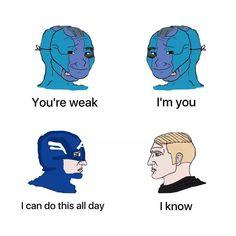 Life Memes, Edgy Memes, Best Memes, Dankest Memes, Funny Memes, Superhero Academy, Meme Caption, Pretty Meme, All The Things Meme
