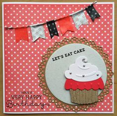 LindaCrea: Let's Eat Cake #2 & Shopresultaat Knotsgekke Kaartendagen