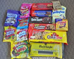 New Zealand Food and Drink Arnotts Biscuits, New Zealand Food And Drink, Nz History, Food Hampers, Tim Tam, Kiwiana, All Things New, Mellow Yellow, Pop Tarts