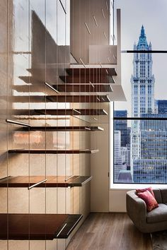 TriBeCa Penthouse, NY by Steven Harris Architects / much