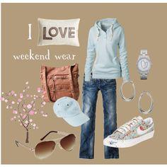 """weekend wear"" by heismygod on Polyvore"