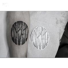 """Gefällt 588 Mal, 16 Kommentare - Bobby Anders (@bobby_anders_tattoo) auf Instagram: """"Birkenwald für Marian Appointments: bobbyanderstattoo@gmail.com @akaberlin #akaberlin #tattoo…"""""""