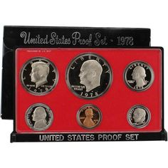 1978 S US Mint Proof Set Original Government Packaging - http://www.rekomande.com/1978-s-us-mint-proof-set-original-government-packaging/
