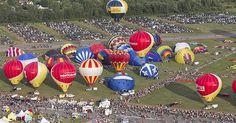 Festival international de mongolfières   - Saint-Jean-sur-le-Richelieu