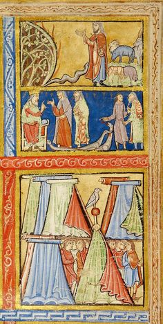 Psalter ~ England ~ Canterbury ~ 1155-1160 ~ MS M.724r ~ The Morgan Library & Museum ~ Pierpont Morgan Library