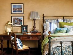 Mediterranean Bedrooms from Betty Lou Phillips on HGTV