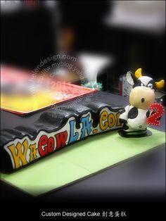 WaCowLA.Com logo cake