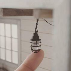 #miniature#nautical#light#vintagelight#handmade#ミニチュア#マリンライト#ビンテージライト#手作り ちっ、コンタクトしてるやつしか作れないじゃん(`ε´)、の作り方はブログに♪