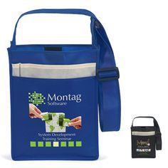 50c26295e85 Recycled Messenger Tote 10x3x13 - Full Color. Eco Promotional Products ...