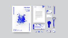 A swiss designer's festival identity based on headliner's vibrations