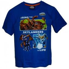 T-shirt skylanders giants - bleu - bring the skylanders to life