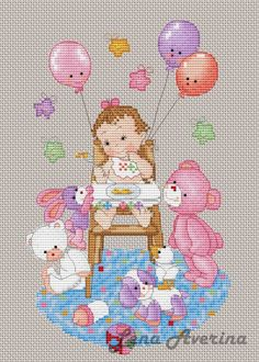Cross Stitch Owl, Baby Cross Stitch Patterns, Cross Stitch Charts, Cross Stitch Designs, Cross Stitch Embroidery, Baby Kiss, Cross Stitch Pictures, Baby Design, Betty Boop