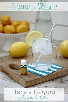 Lemon Water For Health! Check out all the amazing benefits of drinking lemon water each morning!