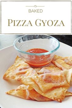 Pizza Gyoza inspired by the Never Say Xever episode of Teenage Mutant Ninja Turtles. Asian dumplings with pizza filling that are baked not fried or steamed.