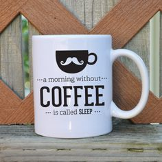 SAEL  A morning without coffee is called by TickledTealBoutique, $11.99