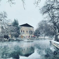 The Picturesque Town of Drama in Macedonia Northern Greece, Covered with Snow . Travel Divas, Greek Blue, Greece Photography, Macedonia, Greece Travel, Beautiful Places, Places To Visit, Social Distortion, Visit Greece
