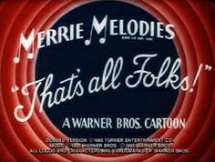 Merrie Melodies. We grew up with Warner Brothers characters, great anarchic mischief-makers like Bugs Bunny and Wile E Coyote. Now it's wall-to-wall Disney. Enough said.