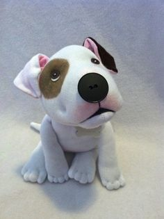 Its hard to find a cute Pit Bull plush, so this is for you Pittie lovers that would like to have a special one, made just for you! And best of