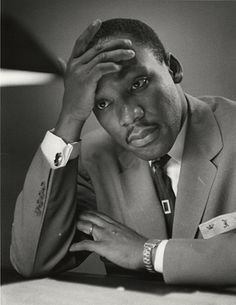 Martin Luther King, Jr.   Montgomery, Alabama, 1956   by Dan Weiner