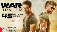 The first trailer of Hrithik Roshan and Tiger Shroff starrer,War, is here. On expected lines, War trailer is bristling with action sequences and good-looking men going after one another.- Know Latest Movie News at Moviekoop - Watch Bollywood Movies Online, Movies To Watch Online, 4k Uhd, Hrithik Roshan, Indiana, Yash Raj Films, New Hindi Movie, Tv Series Online, Full Movies Download