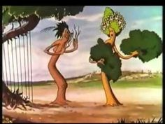 Arboles y Flores de Walt Disney ~ 1932  Primer corto de animación a color.