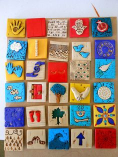 little clay tiles