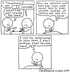 Cardboard Crack - Magic: The Gathering Comics