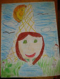 Self-portrait. Autoretrato 3º de primaria