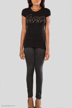 Online Shopping, Capri Pants, Tees, Black, Fashion, Moda, Capri Trousers, T Shirts, Net Shopping