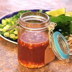 Quick Nuoc Cham Sauce is the perfect sweet, sour, spicy, salty condiment. My recipe also includes options for a veganized version of nuoc cham sauce. Nuoc Cham Sauce Recipe, Pho Recipe, Slow Cooker Duck, Vegetable Pho, Beef Back Ribs, Beef Salad, Vietnamese Cuisine, Beef And Noodles