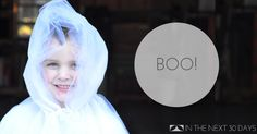 This DIY Tulle Ghost costume floats and will make a big impact this Halloween.   In The Next 30 Days