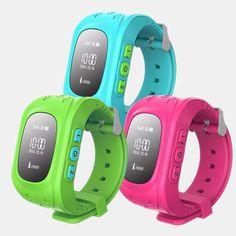 #Wearable GPS watch for Kids