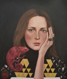 "Elisane Reis; Painting, ""Illusio"" #art"