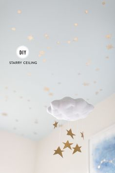 DIY starry ceiling: http://www.stylemepretty.com/living/2015/07/28/diy-starry-ceiling/ | Photography: Ruth Eileen Photography - rutheileenphotography.com