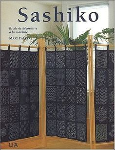 Sashiko : Broderie décorative à la machine - Mary Parker - Livres