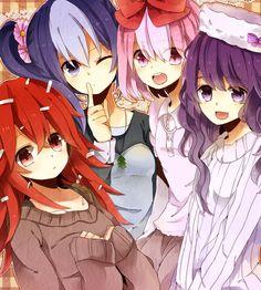 deviantart anime | Happy Tree Friends girls anime by ~Battagua on deviantART