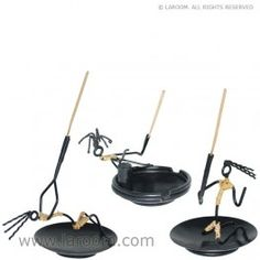 Laroom - Set de 3 porta-inciensos metal  - Laroom diseña y fabrica los porta inciensos más bonitos del mundo - www.laroom.com Shovel, Incense, Metal, The World, Dustpan, Metals