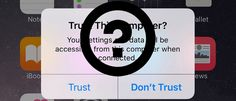 How to Trust and Untrust Computers on iPhone and iPad #ios