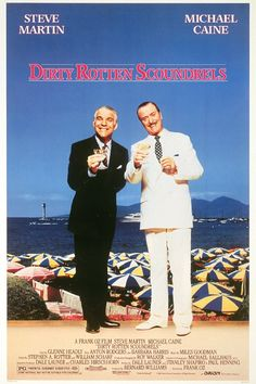 Dirty Rotten Scoundrels (1988), Steve Martin, Michael Caine, Glenne Headly