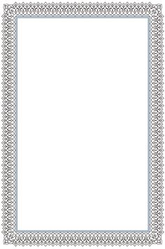 Certificate Border, Certificate Background, Certificate Design Template, Frame Border Design, Page Borders Design, Calligraphy Borders, Islamic Calligraphy, Borders For Paper, Borders And Frames