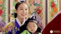 Jang Ok Jung, Jung In, Kim Tae Hee, Korean Hanbok, Drama Korea, Queen, Traditional Outfits, Kdrama, Historical Dress