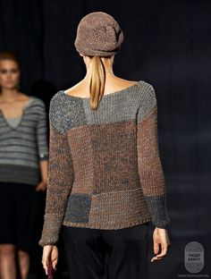 Foto's – Ton Schulten Best Picture For Knitting vest For Your Taste You are looking for something, and it is going to. Diy Knitting Projects, Knitting Blogs, Hand Knitting, Knit Art, Knit Fashion, Knitting Patterns, Knit Crochet, Textiles, Couture