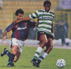 Careca - never quite showed his full skills at Sporting