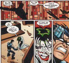 JOKER LAST LAUGH<<<< IM SCREAMINJH (it's talking about Jason so it counts ok hiSs)
