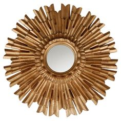 Hickory Manor House Eleganza Wall Mirror - 22 diam. in.