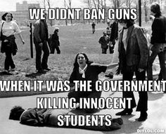 Kent State | guns, gun rights, gun control, anti-gun control, 2nd amendment