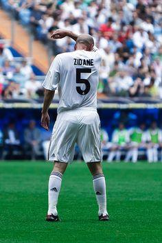 Zinedine Zidane @Rafael Callejon