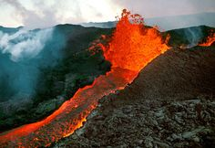 See a live volcano at Hawaii Volcanoes National Park...but I'll do it from a distance!
