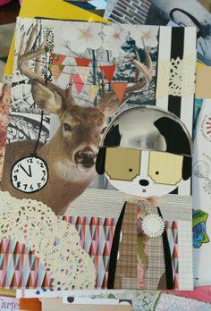 Collage dessin Karine Bailly