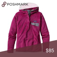 FLASH SALE! Purple Hooded Patagonia Retool Excellent, gently used condition. Women's size small. Bundle to save even more on great brands! Patagonia Sweaters